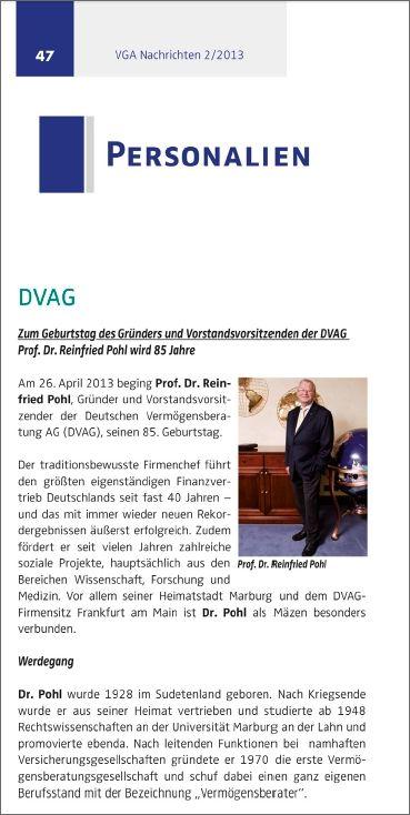 VGA-Nachrichten 2-2013