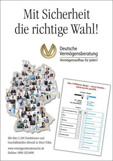 BILD-Anzeige zur Wahl 2013