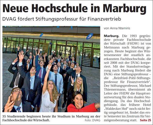 Oberhessische Presse vom 01.10.2013