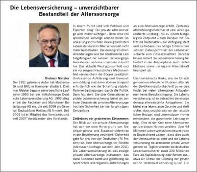 Finanzplatz Deutschland - Chancen und Perspektiven