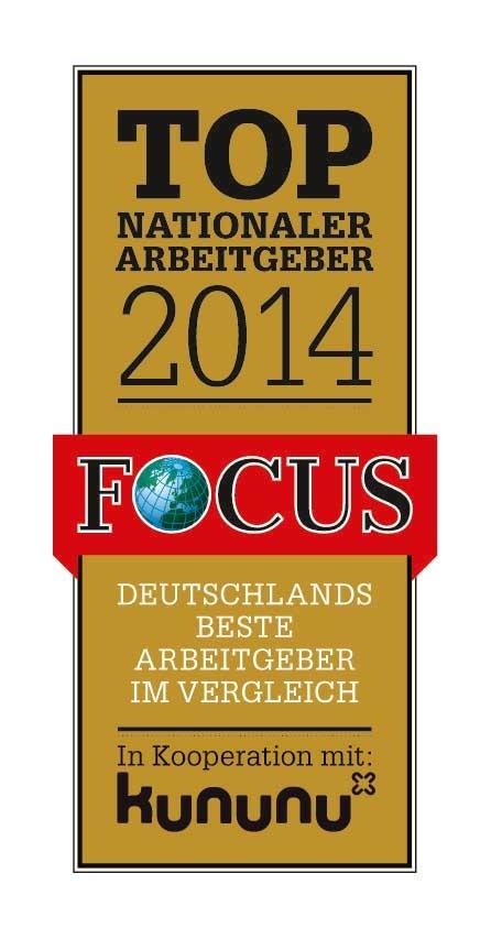 Focus Spezial: Beste nationale Arbeitgeber