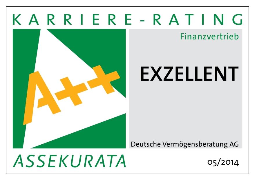 DVAG Karriere-Rating 2014