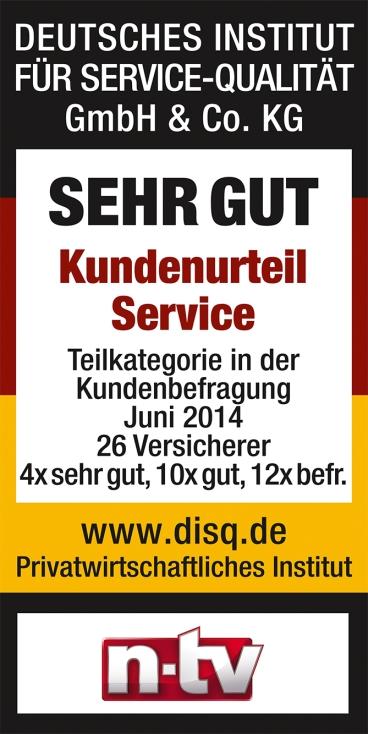 KB-n-tv-SehrGut-Kundenurteil-Service-Versicherer-2014