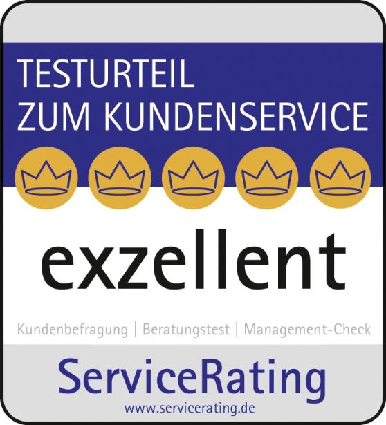 Servicerating 2014 exzellent
