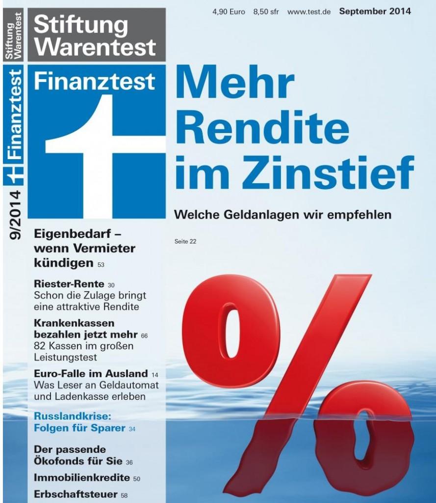 Finanztest 9/2014