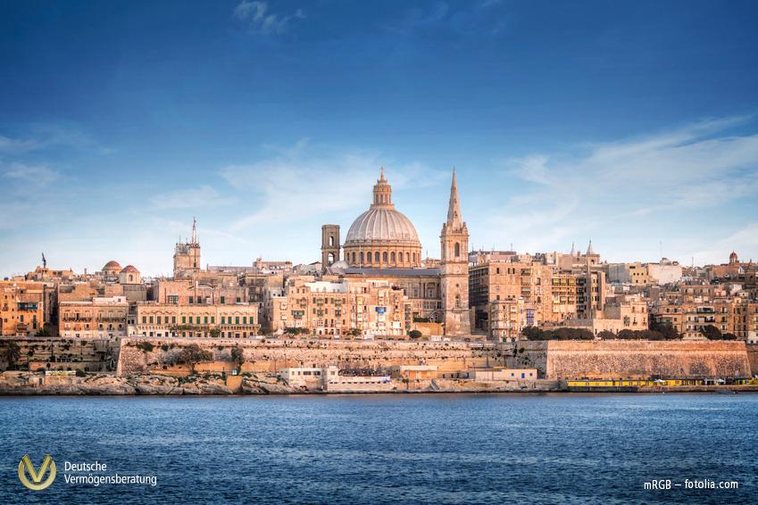 Valletta - Hafen von Malta