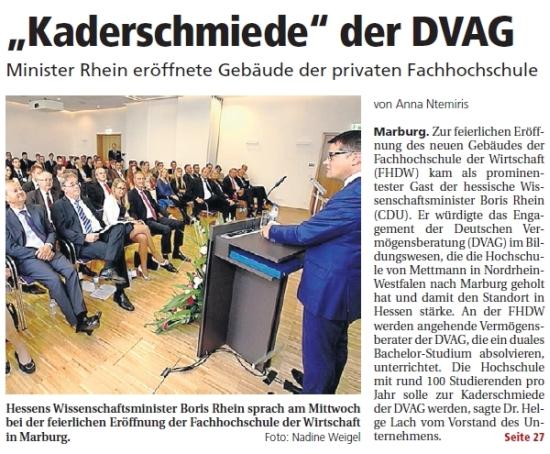 Oberhessische Presse vom 02.10.2014