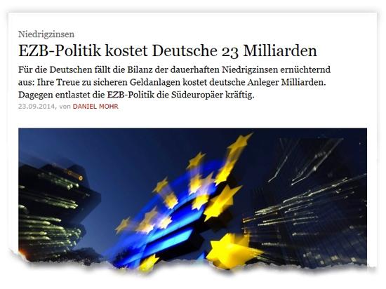 Zeitungsausriss_EZB