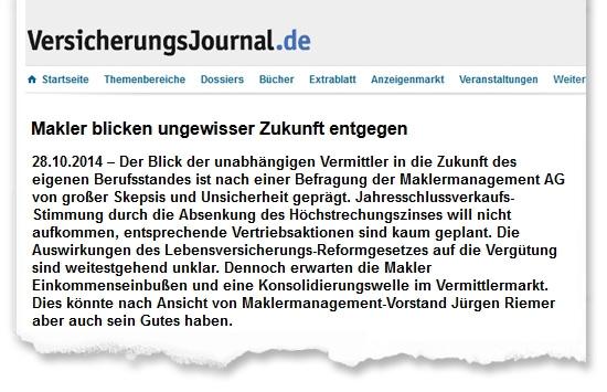 Zeitungsausriss_VersJournal