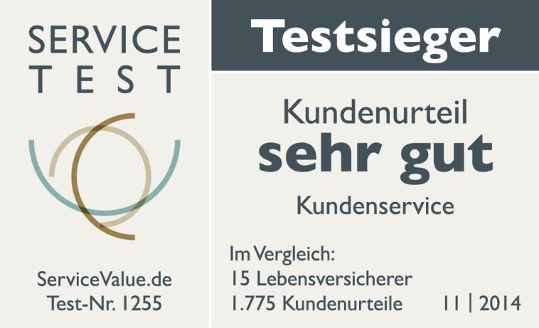 AachenMünchener ist Testsieger Kundenservice