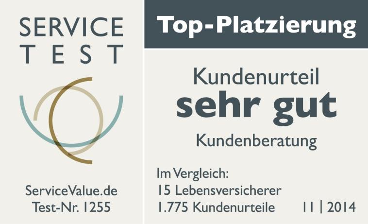 AachenMünchener mit TopPlatzierung in der Kundenberatung