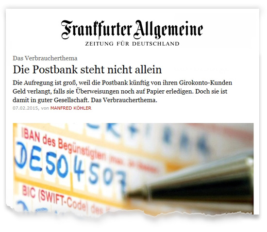 Zeitungsausriss_FAZ-Ueberweisung