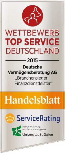 Top Service Deutschland 2015