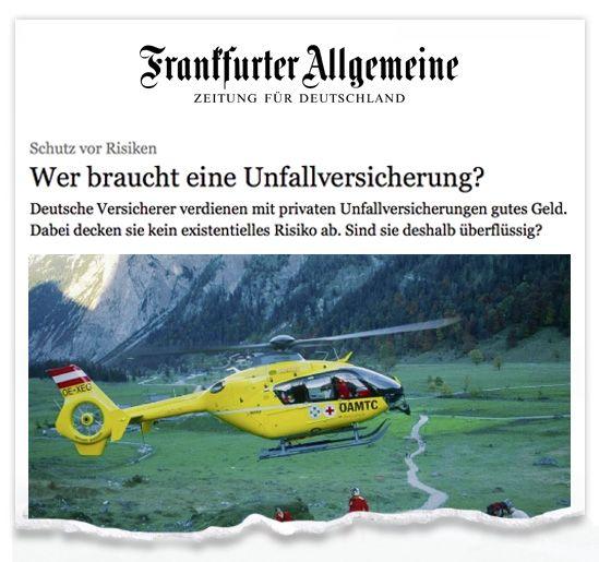 Zeitungsausriss_FAZ_Unfall