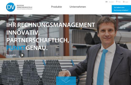 Webseite der Deutschen Verrechnungsstelle