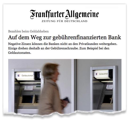 Zeitungsausriss_FAZ_Finanzen_gebuehrenfinanziert
