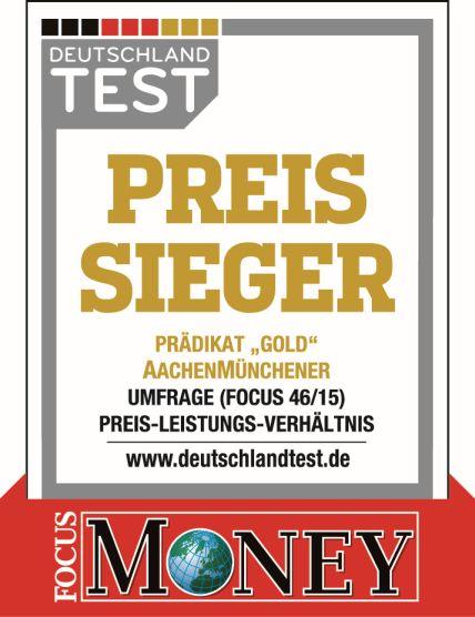 Testsiegel Preis-Leistungs-Sieger 2015