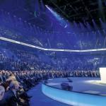 SeptemberStartschuss für die Deutsche Verrechnungsstelle in derSAP-Arena in Mannheim
