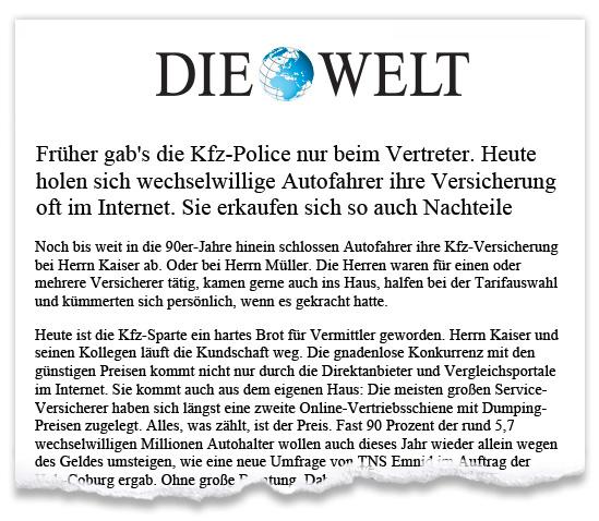 Zeitungsausriss_Die_Welt_KFZ