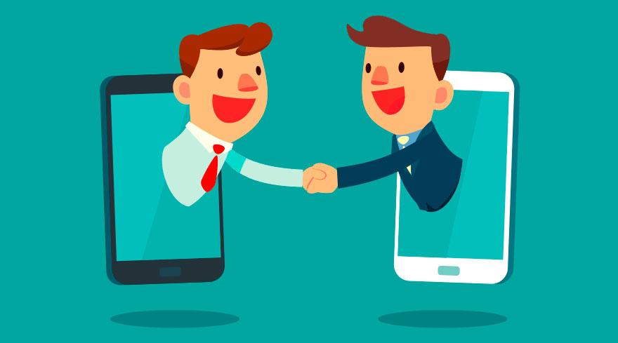 handshake-online-offline-vertrieb der zukunft
